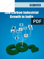 Low Carbon Industrial Growth in India