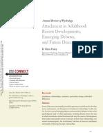 Apego e Efeitos No Desenvolvimento Artigo