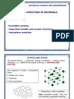Estructura de Los Materiales I