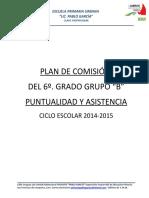2.- Plan de Comisión Del 5o. Lpg 2014-2015
