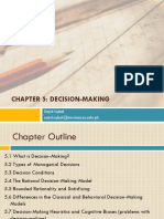 Chapter 4 - Decision Making