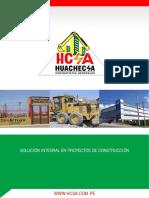 modelo de brochure de empresa de servicios
