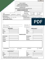 RFI Format