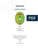 Makalah Osteoporosis
