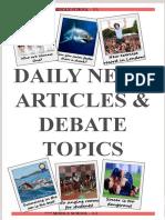 3-1 10 Articles, 10 Debates, Book Report.pptx