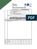 TAG-1612-405-04 Air Compressor IOM - As Build
