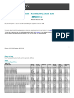 Rail Industry Award Ma000015 Pay Guide