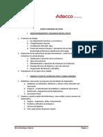 Curso Camarera de Pisos 2019
