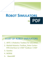 Robot Simulators