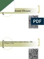 PPDGS Konservasi Lecture3 PeriodontalDisease