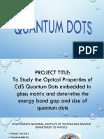 Quantumdots Explanation