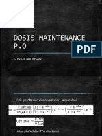Dosis Maintenance p.o