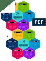 Calendario Hexagonal