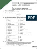 Std 12 Biology 1 Board Question Paper Maharashtra Board
