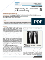 Augmentation Plating in Treating Non-Union Femur