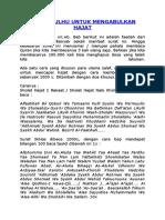 Surat Qulhu Untuk Mengabulkan Hajat Sdh Jg