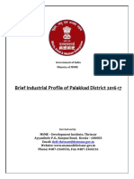 DIP - District industrial Report - Palakkad