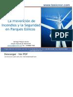 La Prevención de Incendios y La Seguridad en Parques Eólicos - PDF