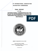 Bulletin 27 - Final Report of the International Commission for the Study of Environmental Effects of Dredging and Disposal of Dredged Materials