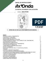 MX CP2395 Instrucciones