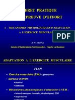 MECANISMES  PHYSIOLOGIQUE D'ADAPTATION A  L'EXERCICE  MUSCULAIRE.ppt