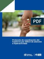 Protocolo de Coordinación Del Trastorno Por Déficit de Atencióne Hiperactividad