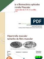 Fisiologia e Biomecânica Aplicadas Na Hipertrofia Muscular