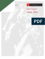 AA FA2010 Course Guide