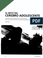 El Mito Del Cerebro Adolescente