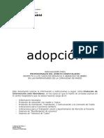 Protocol d'adopció a la Comunitat de Madrid