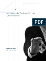 Apunte Modelos de Evaluación de Desempeño
