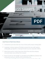 Dual-Class Shares -  Research Spotlight
