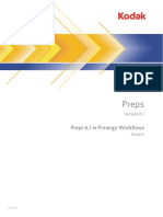 Preps 6.1 PrinergyGuide De