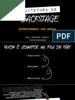 PALESTRA - O QUE É ARQUITETURA DE BACKSTAGE