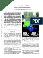 Incremental Visual-Inertial 3D Mesh Generation With Structural Regularities