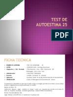Test de Autoestima 25