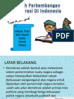 Sejarah Perkembangan Demograsi Diindonesia