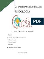 Clima Organizacional Original Imprimir
