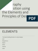 Elements Principles of Design