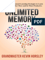 Traducción Unlimited Memory How to Use Advanced Learning Strategies to Learn Faster Remember More and Be More Productive (1).en.es