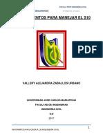 PROCEDIMIENTOS PARA MANEJAR EL S11 VALERY.docx
