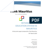 Rethinking Education System