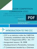 Intro Caribbean Competition Law 18 Feb 2014 Presentation