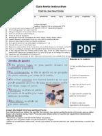 Guía texto instructivo