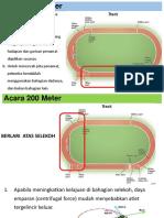 Acara 100 Dan 200 Meter