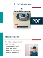 1.1 Units of Measurement