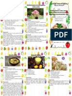 Folleto Nutricion Saludable