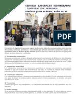 Licencias Laborales Perú