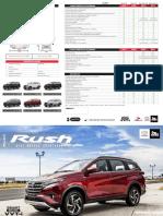 Ficha Técnica - Ficha Técnica Toyota Rush