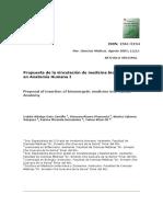 Propuesta de la vinculación de medicina bioenergética en Anatomía Humana I